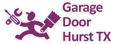 Garage Door Hurst Logo